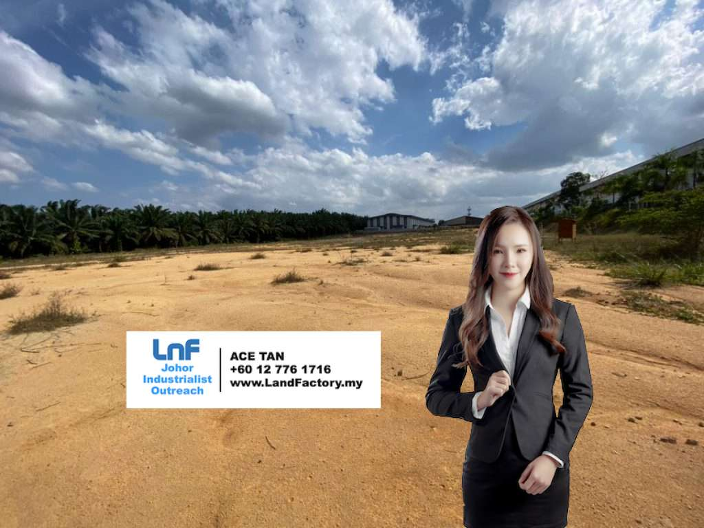 JB Land and Factory for Sale, Ace Tan, Johor Land & Factory